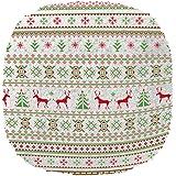 スリーアップ 蓄熱式湯たんぽ ヌクヌク ノルディック柄 ホワイト/グリーン EWT-1740GN