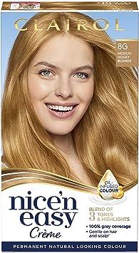 nne Clairol nice-n-easy pelo color, 8 g rubio miel)