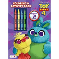 Bendon 44597 Toy Story 4 Coloring and Activity Book with Crayons