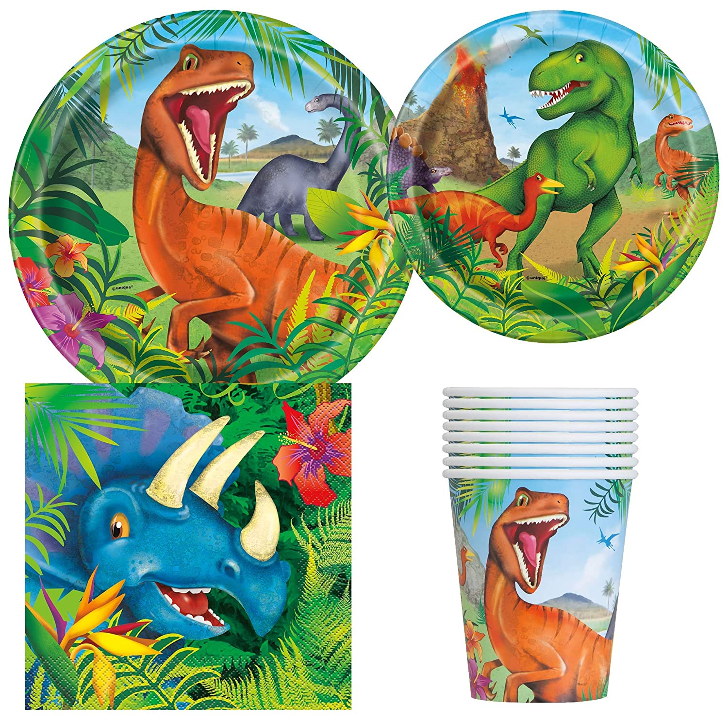 Dinosaur Party Bundles for 8 Guests