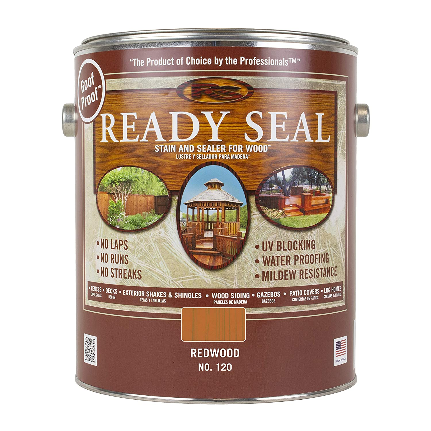 Ready Seal Redwood Exterior Wood Stain and Sealer Image