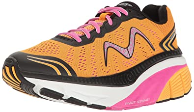 625e228e67a0 MBT Women s Zee 17 W Sneaker Orange Pink Black White 6 Medium US