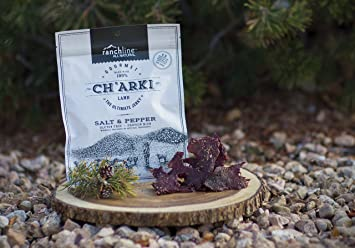 Charki Salt And Pepper, A Paleo Certified, Grass Fed Lamb Jerky  All  Natural, Preservative Free,