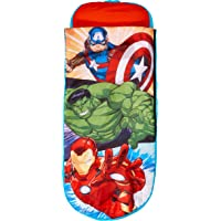 Homewares 406ANE Marvel Avengers Junior ReadyBed - 2 in 1 Kids Sleeping Bag and Inflatable air Bed in a Bag with a Pump…