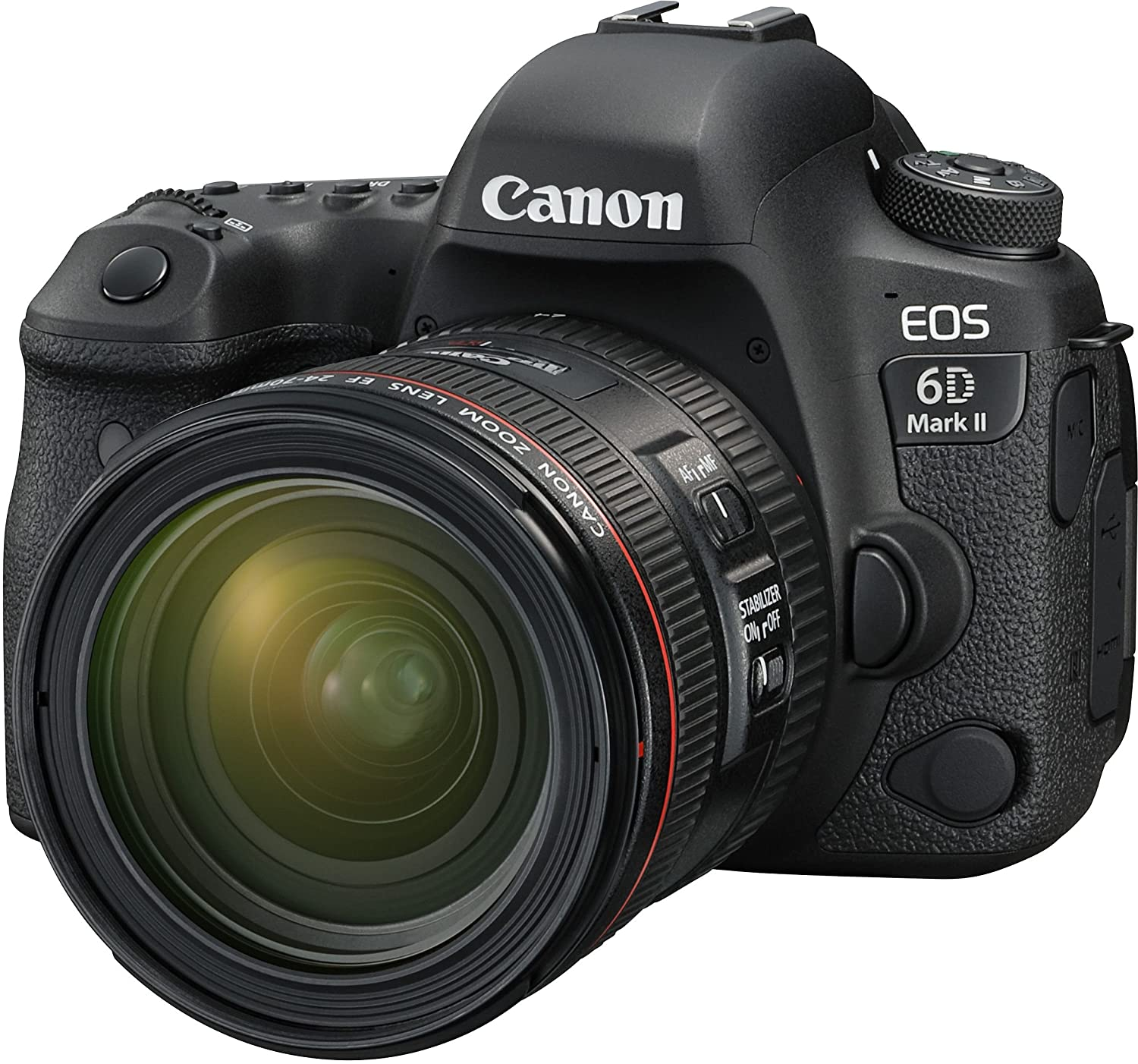 Canon EOS 6D Mark II 26.2MP DSLR (With EF..