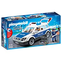 Playmobil - 6920 - Voiture Policier + Gyrophare