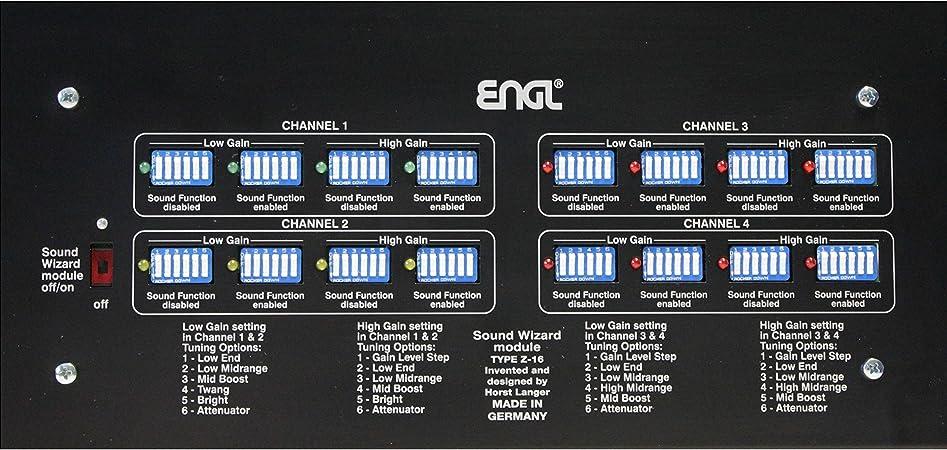 Engl Z-16 Sound Wizard - Módulo de sonido: Amazon.es ...