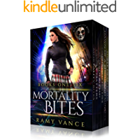 Mortality Bites - Boxed Set (Books 1 - 6): An Urban Fantasy Epic Adventure book cover