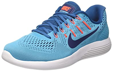 fd6b99985274 Nike Men s Lunarglide 8 Blue Running Shoes (843725-406) (UK-11 (US ...