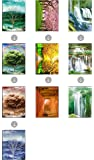 NATURE BUNDLE UNFRAMED Holographic Wall Art-MULTIPLE PICTURES IN ONE-SEASONAL SPECIAL-Lenticular Artwork-HOLOGRAM Images Change--Technology by THOSE FLIPPING PICTURES