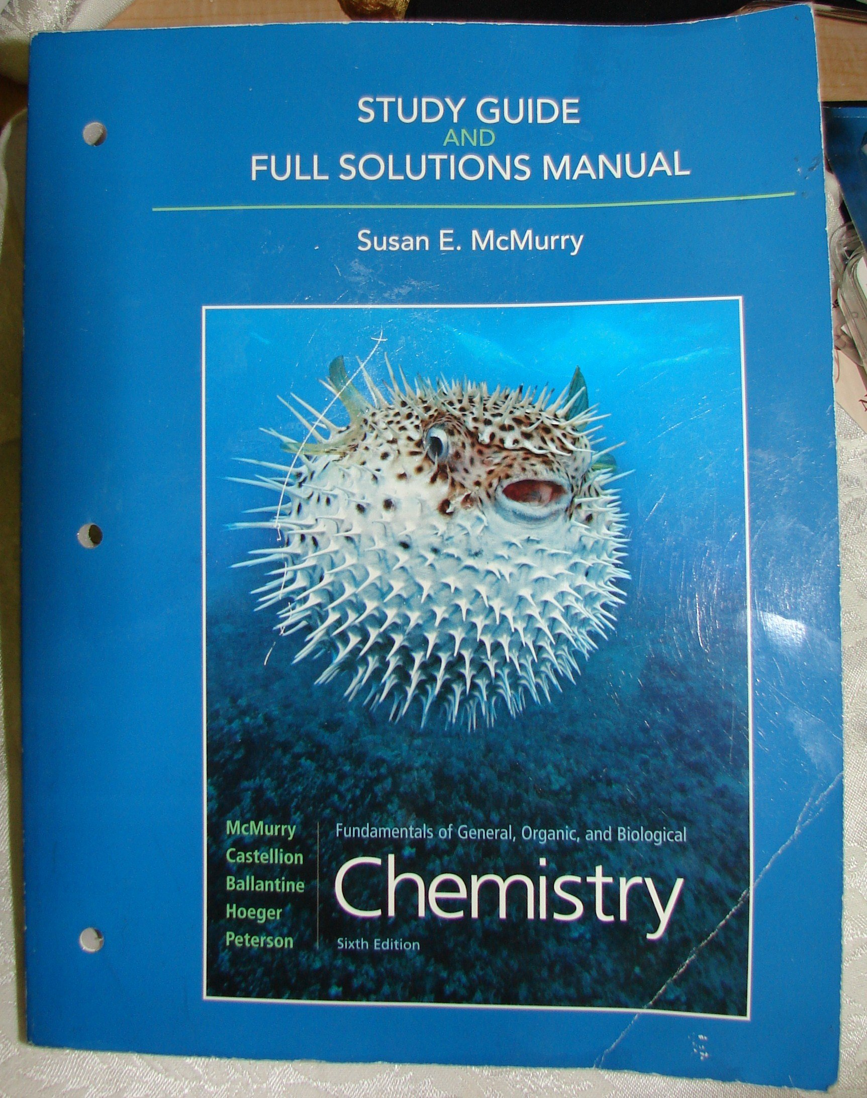 Chemistry - Study Guide & Full Solutions Manual - 6th Edition: Amazon.com:  Books