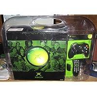 Microsoft Xbox System Bundle w/ 2 Controllers & DVD Remote