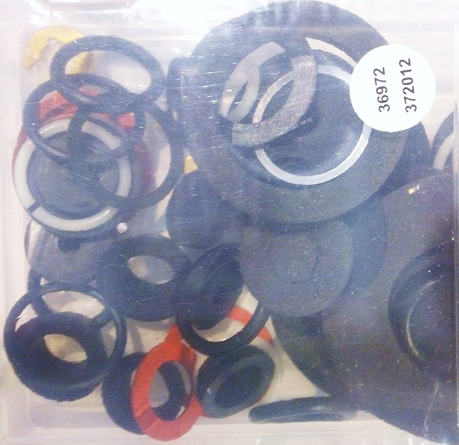 54 Piece Washers and Seals Kit with Storage Case Storehouse