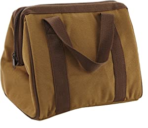 Fit & Fresh Men's Big Phil Insulated Lunch Bag with Ice Pack, Brown