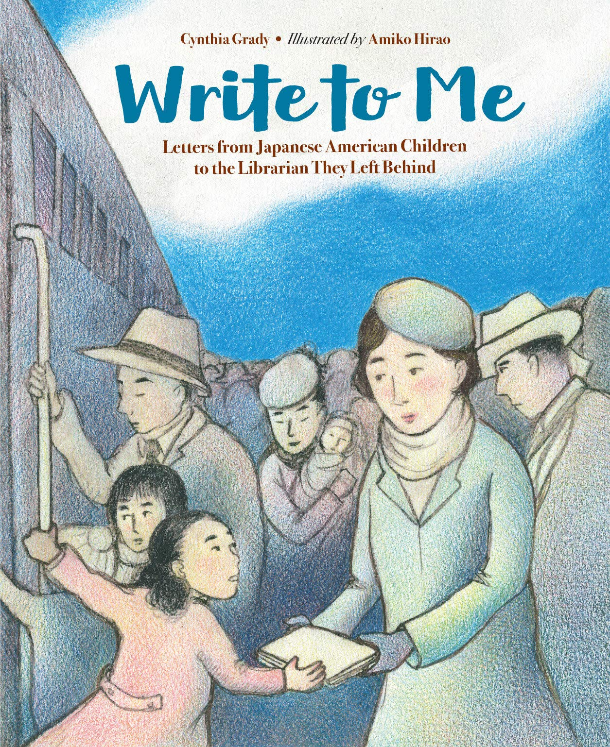 Write Me Japanese American Librarian product image