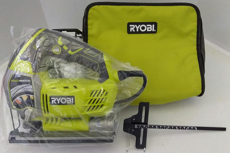 Ryobi ZRJS651L 6.1 Amp Variable-Speed Orbital Jigsaw with SpeedMatch