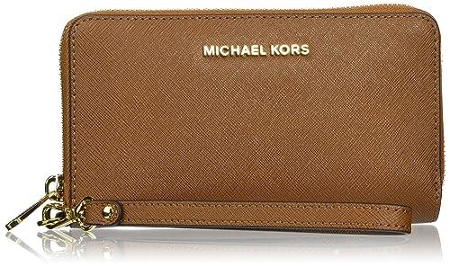 Michael Kors Jet Set Travel Large Smartphone - Carteras de mano con asa Mujer