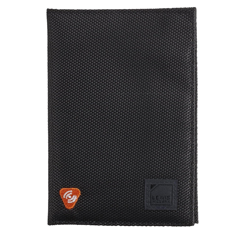 Lewis N Clark RFID-Blocking Passport Holder Case,Black,One Size