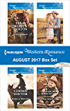 Harlequin Western Romance August 2017 Box Set: Texas Rebels: Paxton\Cowboy Doctor\Her Cowboy Boss\The Rancher's Miracle Baby