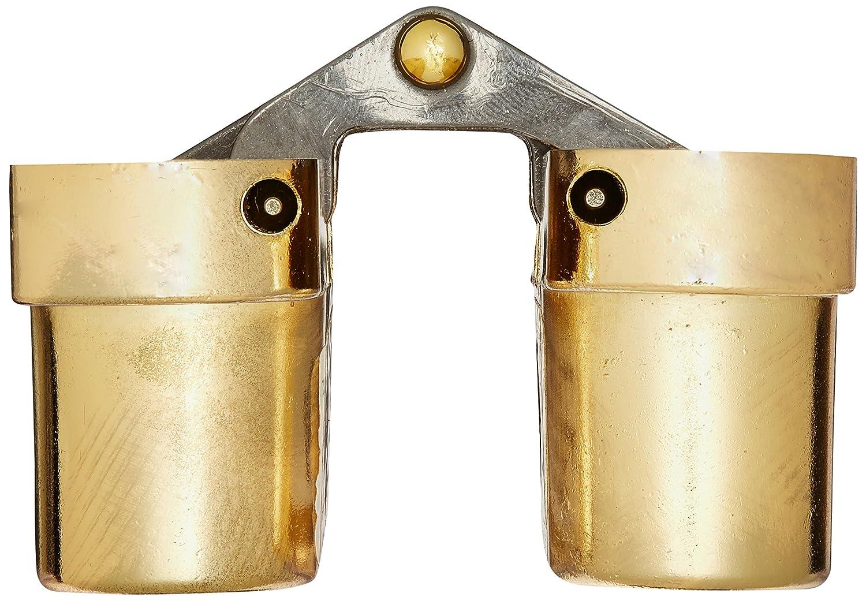 SOSS 216FR Zinc 20 Min Bright Brass Exterior Finish SOSS Door Hardware 216FRUS3 Fire Rated Hinge for 1.375 Doors