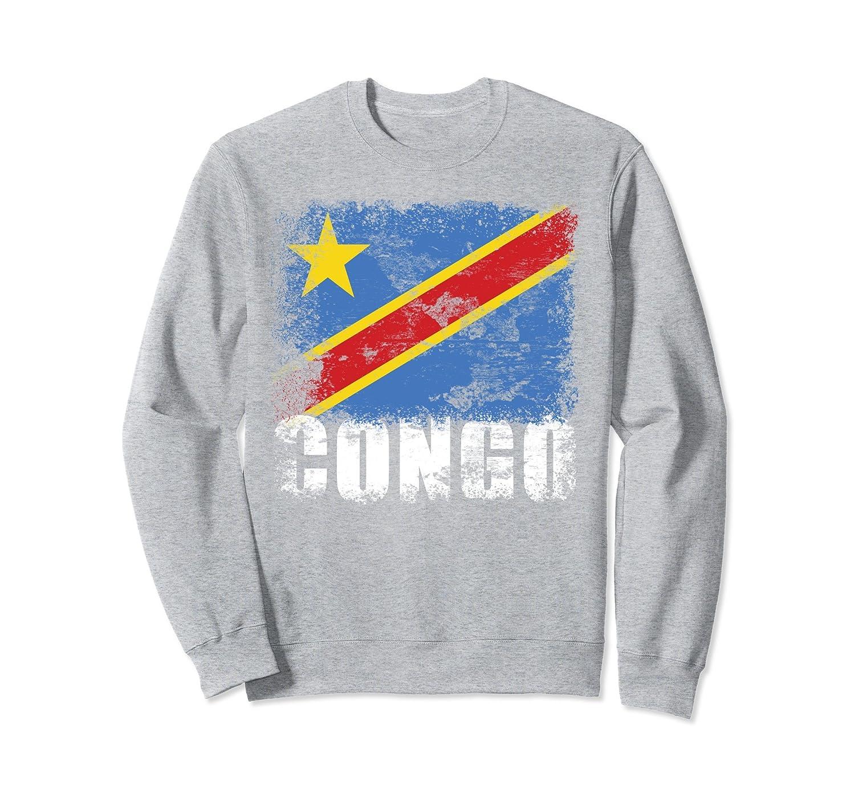 Democratic Republic of Congo Flag Sweatshirt | African Flag-Colonhue