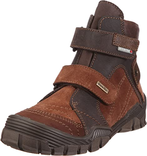 Richter Kinderschuhe Zapatos de Cuero Nobuck para ni/ño