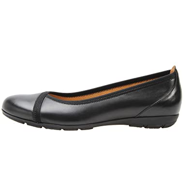 342639ff18506 Amazon.com | Gabor Women's 34-160 Ballet Flat, Black Nappa Leather, UK 7 M  | Shoes