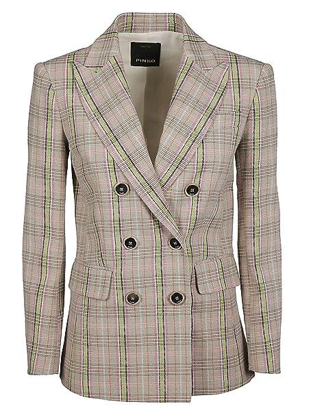 Pinko - Giacca da Abito - Donna Beige 38  Amazon.it  Abbigliamento 131d18d6444