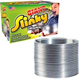 The Original Giant Slinky Walking Spring Toy, Big Metal Slinky