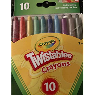Crayola Mini Twistables Crayons (1): Toys & Games