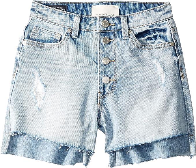 high waisted jean shorts size 14