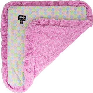 product image for BESSIE AND BARNIE Ultra Plush Cotton Candy/Ice Cream Luxury Dog/Pet Blanket