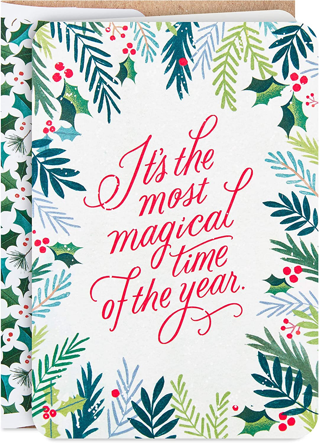 16 Cards and 17 Envelopes Hallmark Boxed Christmas Cards Most Magical Time 5XPX9463