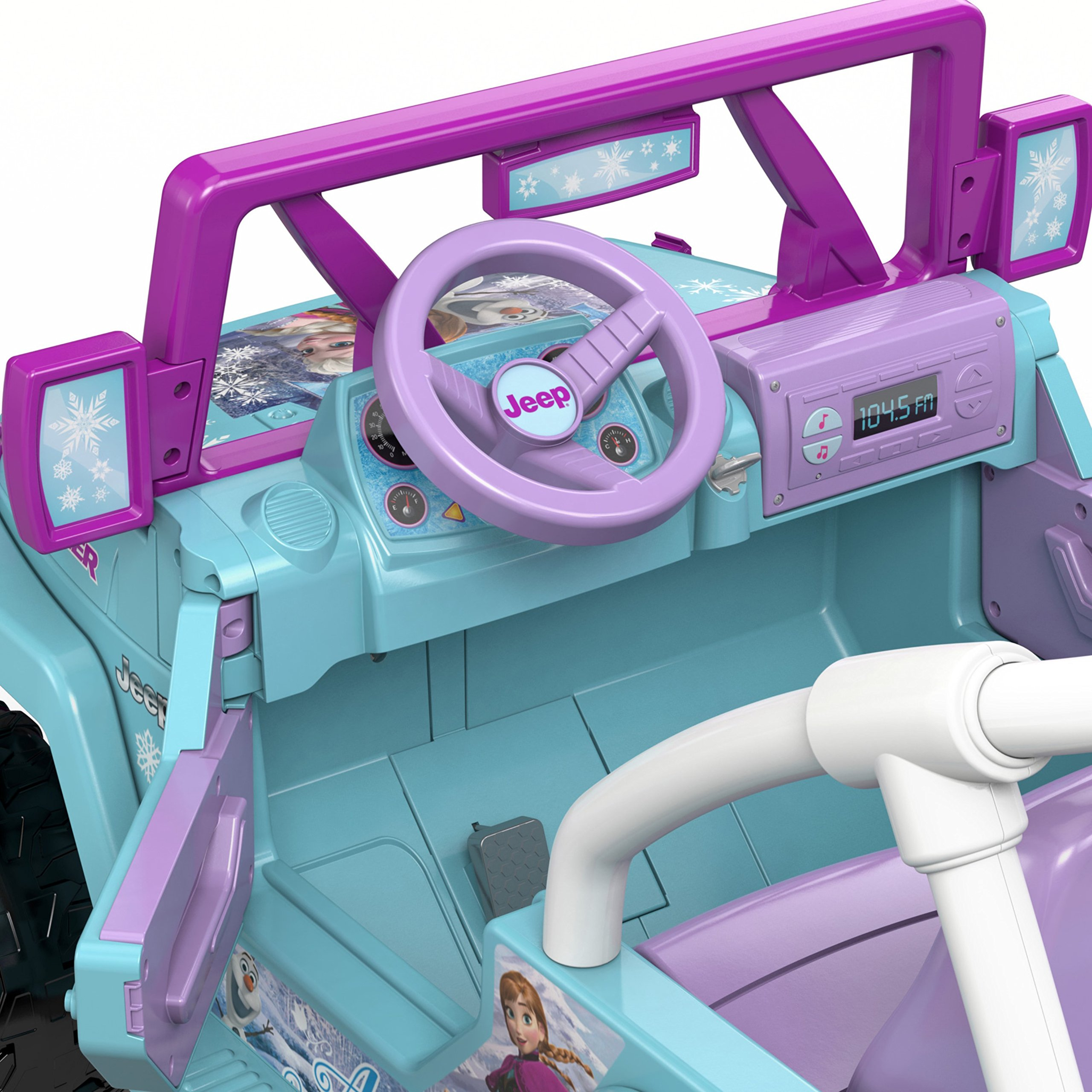 Power Wheels Disney Frozen Jeep Wrangler by Fisher-Price (Image #13)