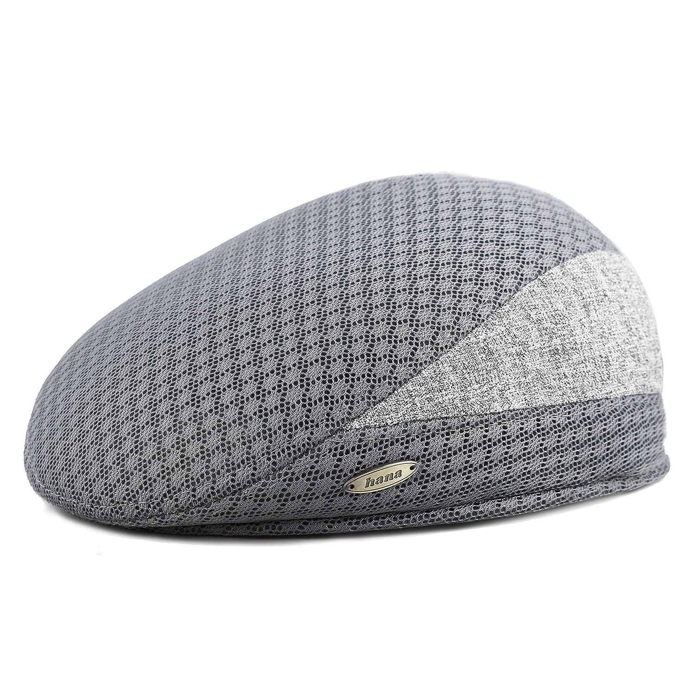 THE HAT DEPOT 200H Unisex Mesh Newsboy Cabbie Ivy Ascot Summer Hat