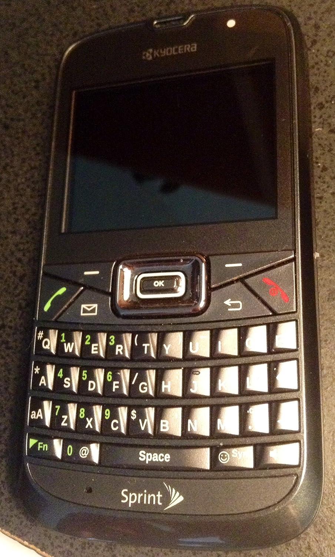 amazon com sprint kyocera brio s3015 qwerty cell phone no