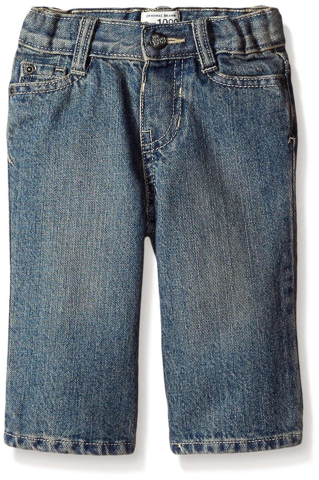 The Children's Place Little Boys' Bootcut Jeans, River, 5