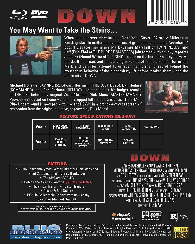 Down aka The Shaft Limited Edition Combo Blu-ray: Amazon co uk: DVD