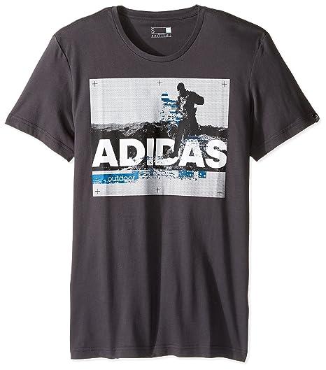Black Outdoor Uomo Uomo Shirt T Trail Utility Running Adidas Pw7qaz7