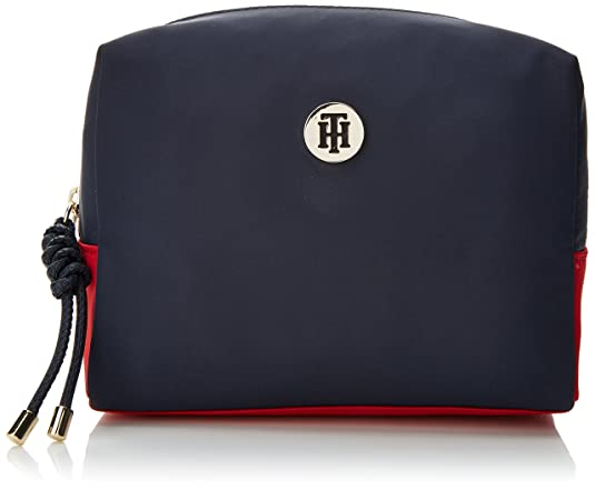Th Signature Strap Camera Bag Cb, Womens Organiser, Blue (Core Cb), 16x17x22 cm (B x H T) Tommy Hilfiger