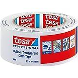 Tesa - Cinta adhesiva americana (48 mm x 25 m), transparente