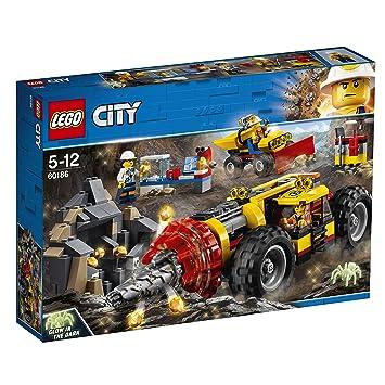 Lego City Mina Perforadora Pesada 60186 Amazon Es Juguetes Y