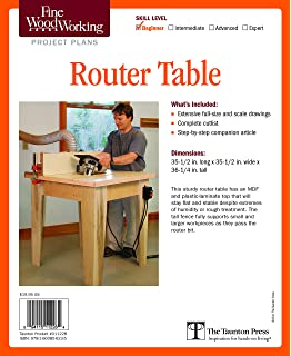 Build your own router tables amazon john r mcpherson fine woodworkings router table plan fine woodworking project plans keyboard keysfo Image collections