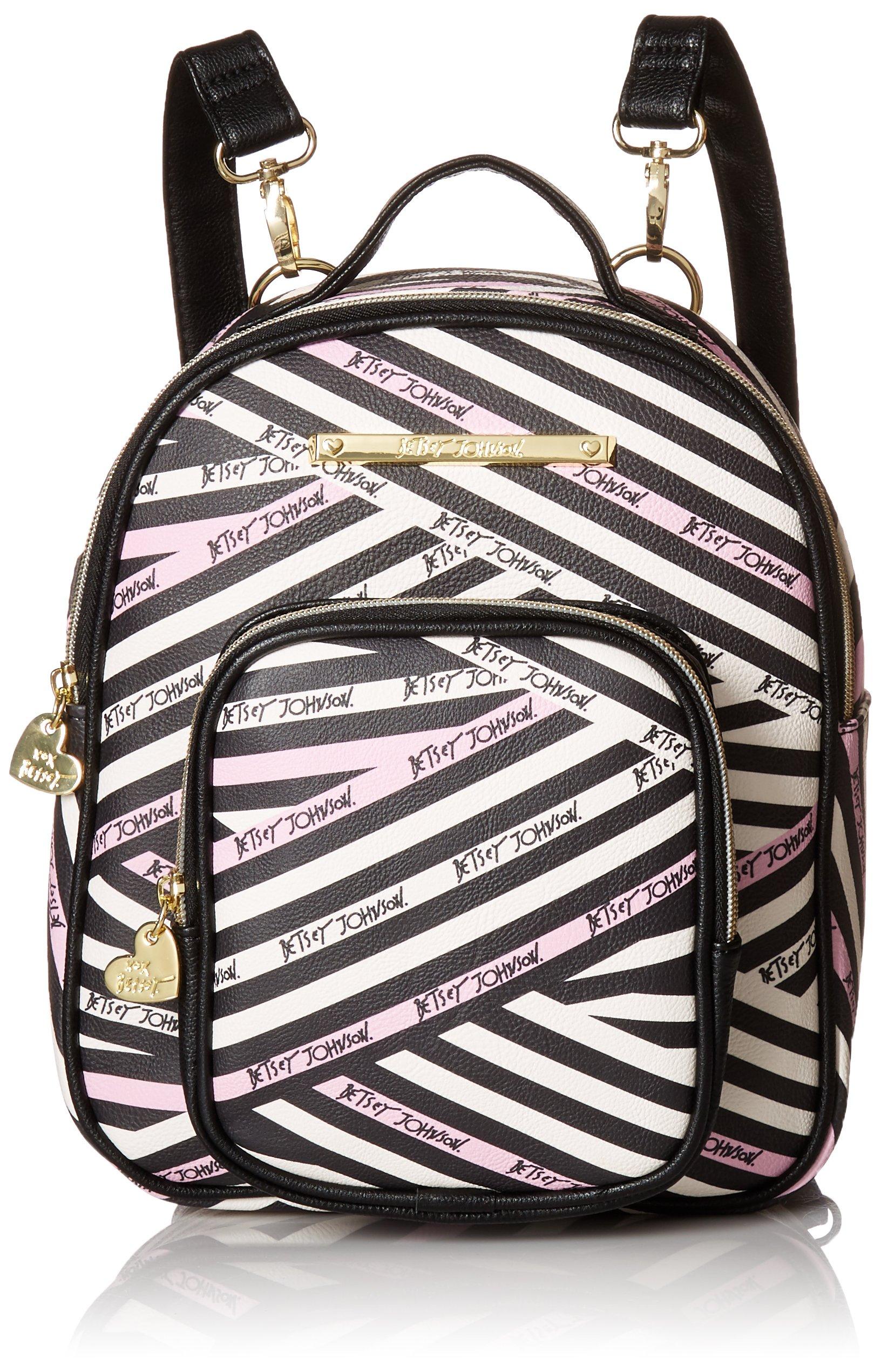 Betsey Johnson Women's Mini Convertible Backpack Multi One Size by Betsey Johnson (Image #1)