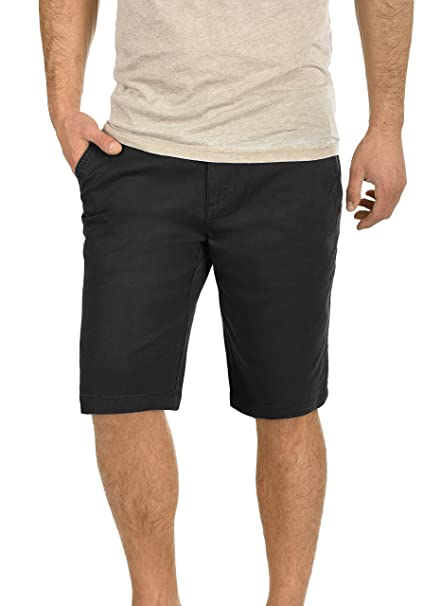 13043c07ccdeb !Solid Lamego Chino Pantalón Corto Bermuda Pantalones De Tela para Hombre  Elástico Regular-Fit  Amazon.es  Ropa y accesorios