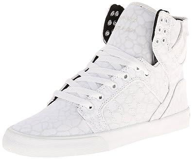 e857979ba7 Supra WOMENS SKYTOP Damen Hohe Sneakers, Weiß (WHITE / CHEETAH - WHITE WCH)