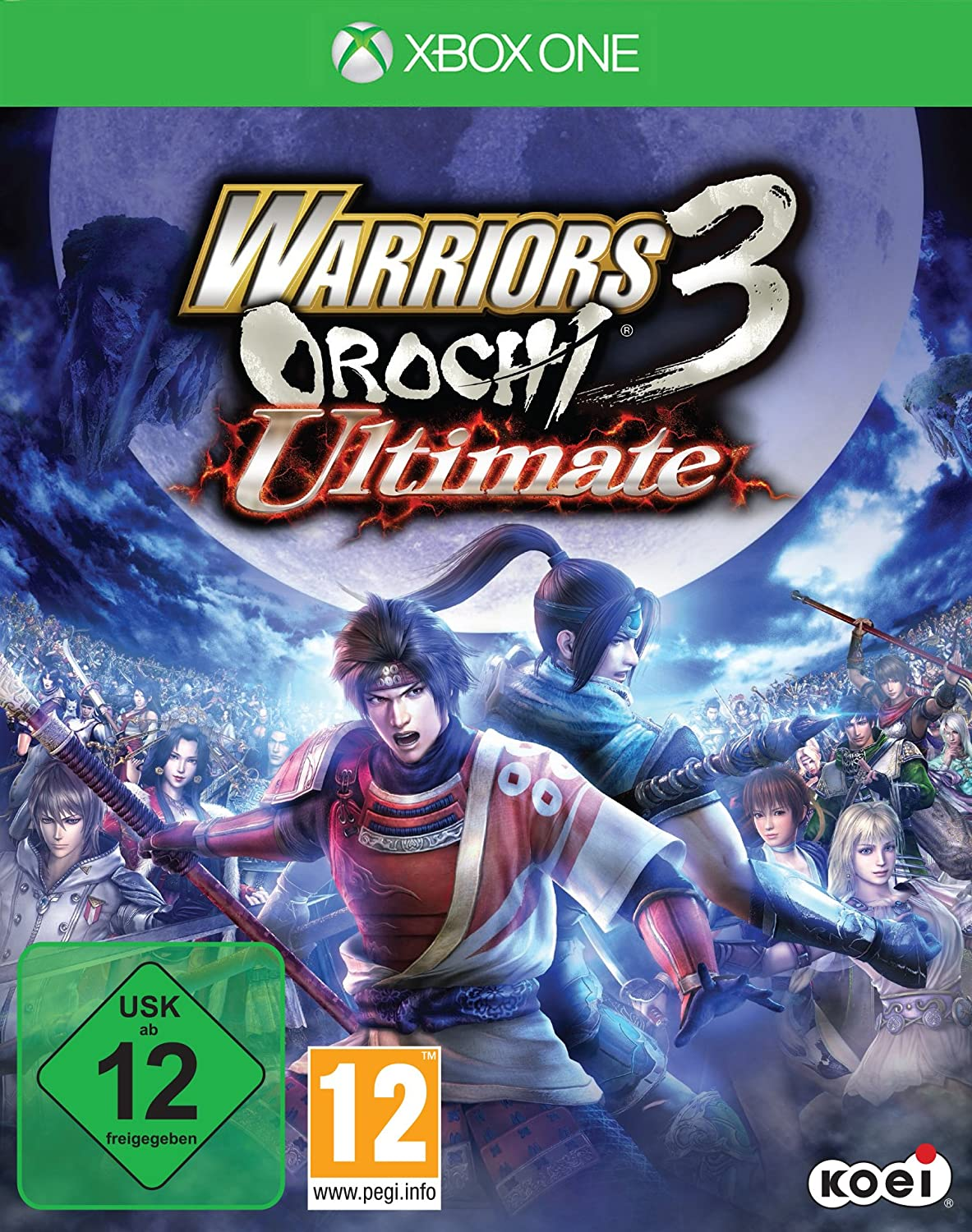 Tecmo Koei Warriors Orochi 3: Ultimate, Xbox One Básico Xbox One ...