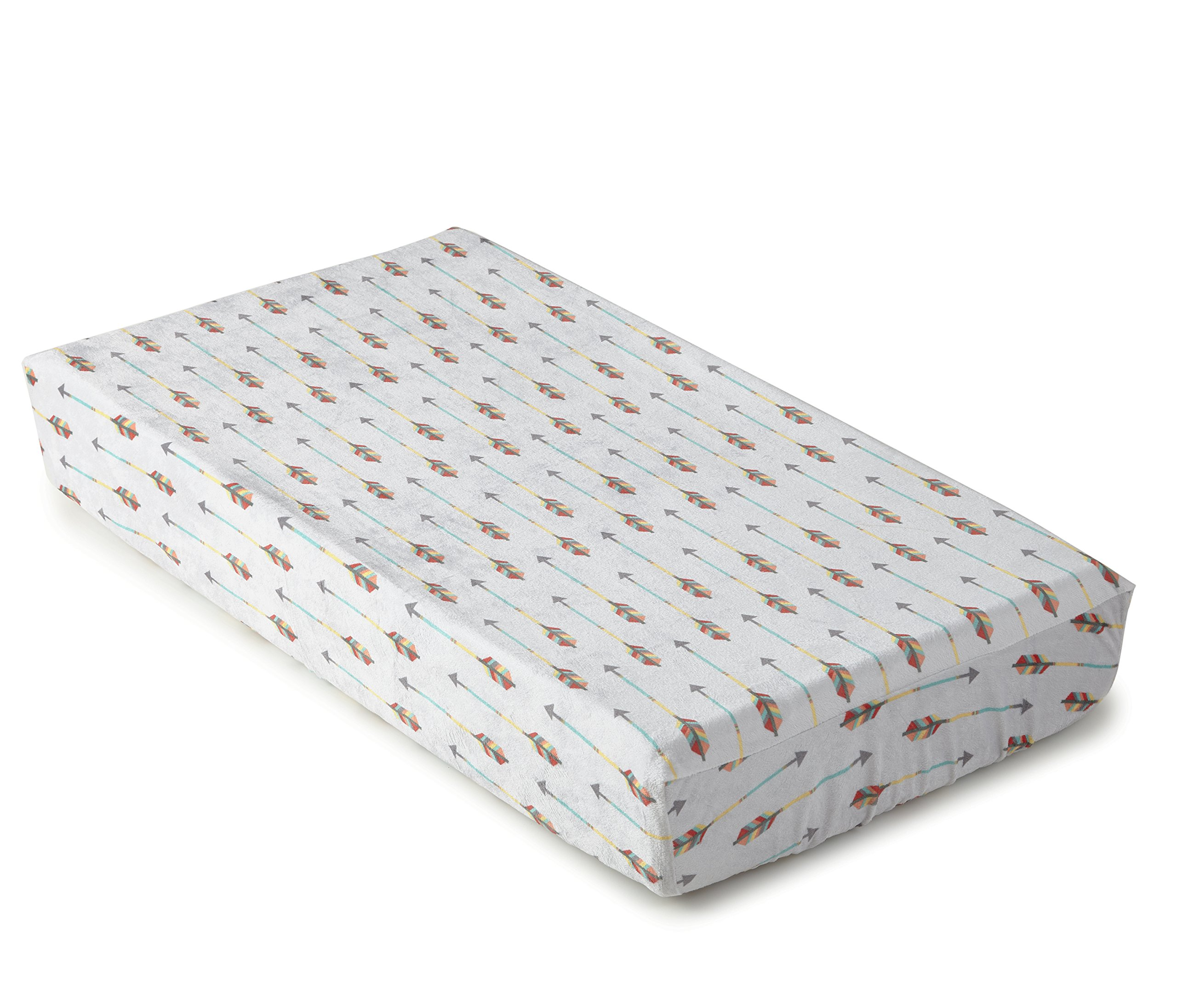 Levtex Home Baby Zambezi Changing Pad Cover, Grey