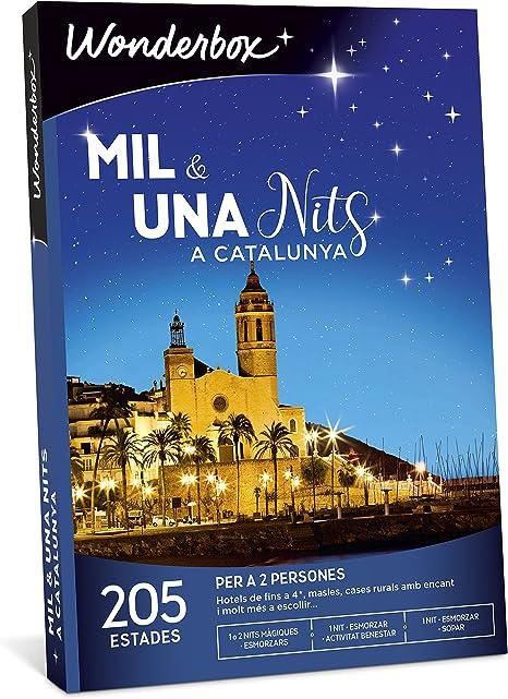 WONDERBOX Caja Regalo -MIL & UNA NITS A Catalunya- 205 estancias ...
