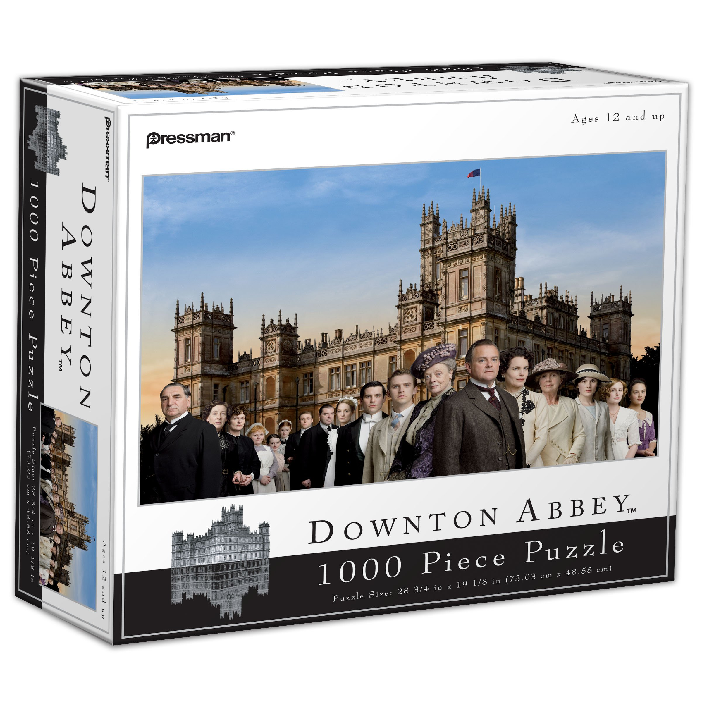 Downton Abbey 1000-Piece Puzzle - Family and Staff by Pressman